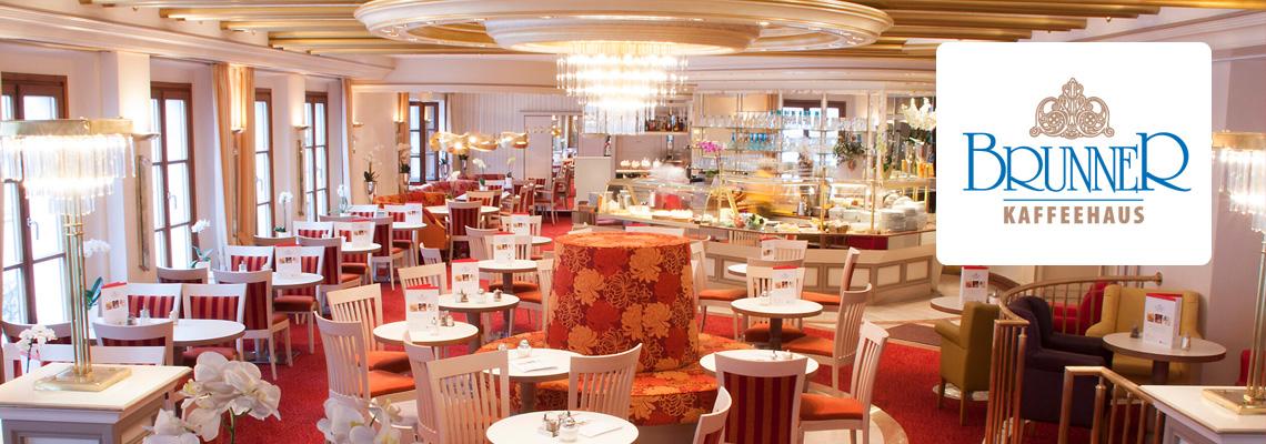 Kaffeehaus Brunner in Weiden | Café 1. Stock